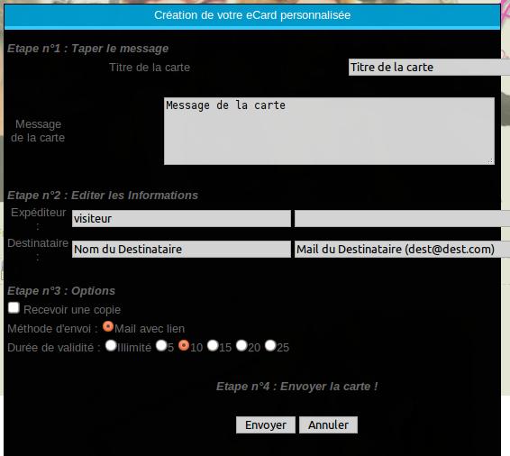 Carte virtuelle avec Piwigo